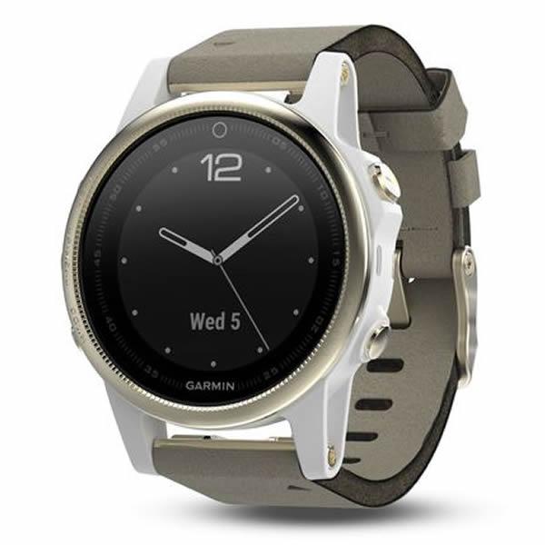 Sportovní hodinky Garmin Fénix 5S Sapphire zlaté  fe0ba8a994