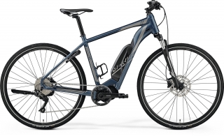 Merida eSPRESSO 200 L(55) SILK STEEL BLUE(SILVER)