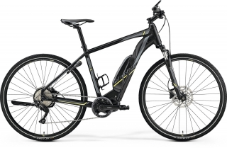 Merida eSPRESSO 500 L(55) MATT BLACK(NEON YELLOW)