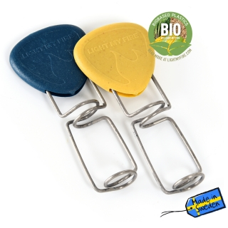 Light My Fire Grandpa´s FireFork BIO 2-pack mustyyellow/hazyblue