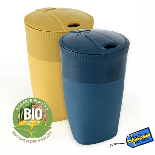 Light My Fire Pack-up-Cup BIO 2-pack mustyyellow/hazyblue