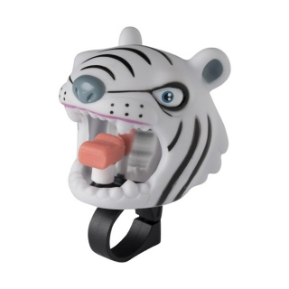 Zvonek na kolo Crazy Safety White Tiger