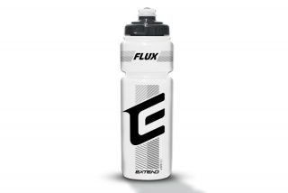 Láhev Extend FLUX, 750ml transparent white-black