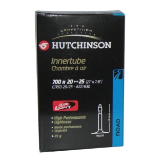 "Hutchinson Air Light 28"" 700x20-25C, SV 60mm"