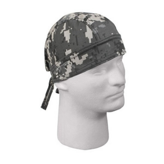 Šátek Rothco Headwrap Urban Digital Camo