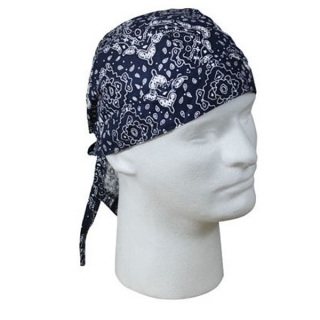Šátek Headwrap Trainmen Navy Blue Rothco