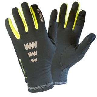 Rukavice Wowow Dark Gloves 1.0 Šedé vel. S