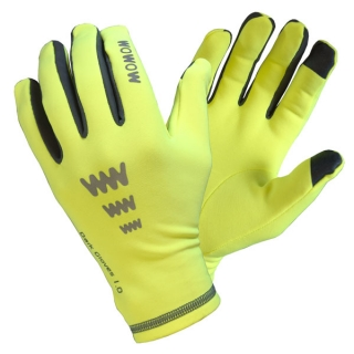 Rukavice Wowow Dark Gloves 1.0 Žluté vel. S