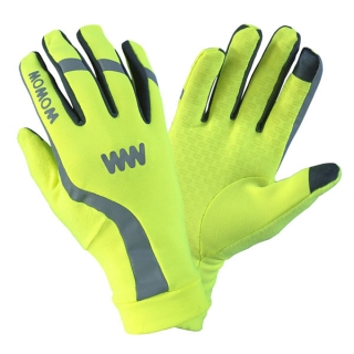 Rukavice Wowow Dark Gloves 3.0 Žluté vel. S