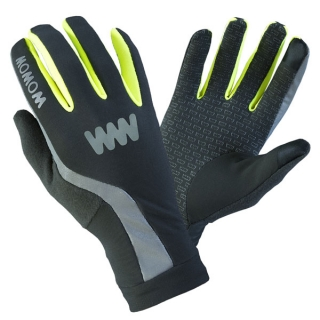 Rukavice Wowow Dark Gloves 3.0 Šedé vel. S