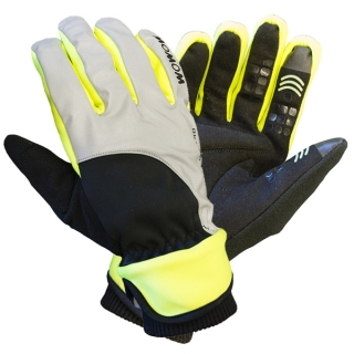 Rukavice Wowow Dark Gloves 4.0 Šedé vel. S