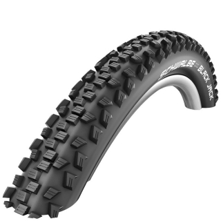 "Schwalbe Black Jack 16"", 16x1.90"", 47-305, LiteSkin, K-Guard, Black'n' Roll"