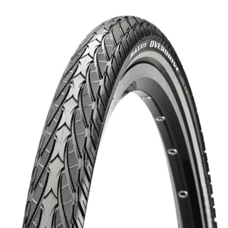 "Maxxis Overdrive 28"", 700x32, 32-622, Single Compound, MaxxProtect"